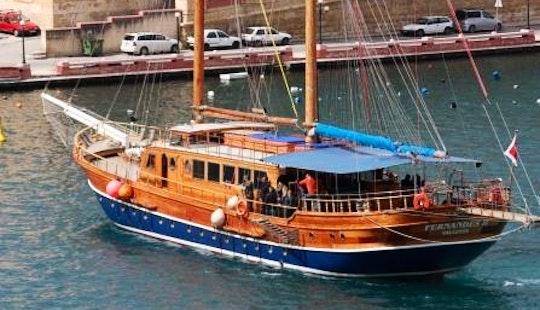 Charter A Gulet In Tas-sliema, Malta