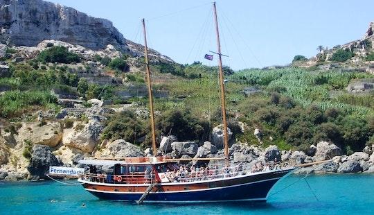 Enjoy A Private Gulet Charter In Tas-sliema, Malta