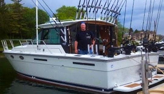 31' Tiara Continental Fishing Charter In Kenosha, Wisconsin