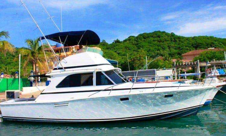 38' Sport Fishing Yacht In Huatulco