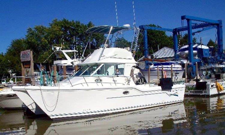 30' Baha Cruiser Fishing Charter In Oak Harbor
