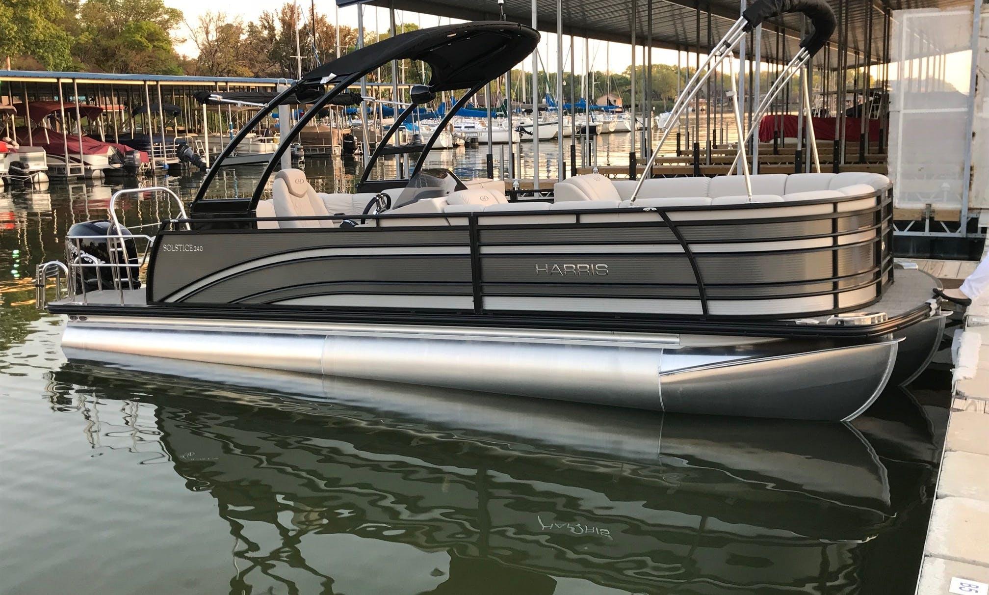Not your normal rental pontoon!