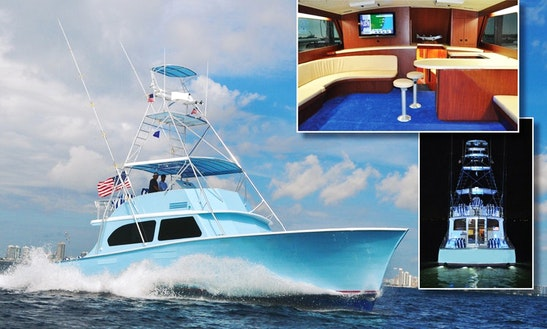 Go Fishing In Miami, Florida On 58ft