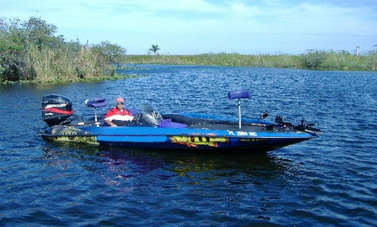 Bass Boat Fishing Charters In Davie, Florida