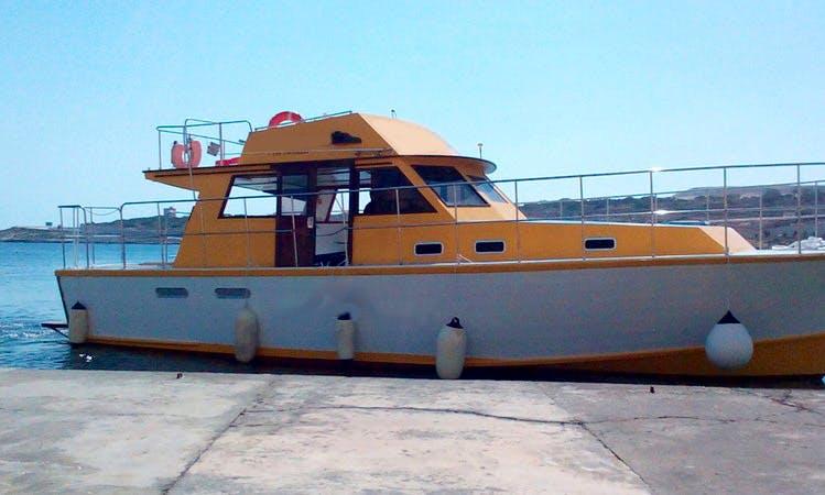 Charter a Motor Yacht in Saint Paul's Bay, Malta