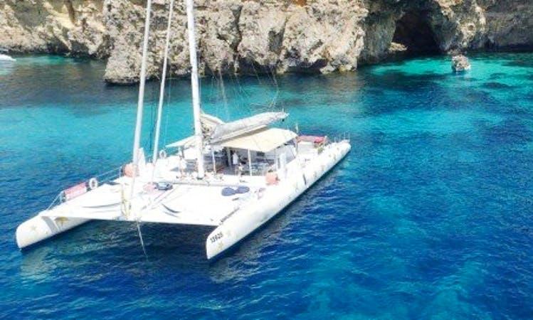 Charter 82' Cruising Catamaran in San Pawl il-Baħar, Malta