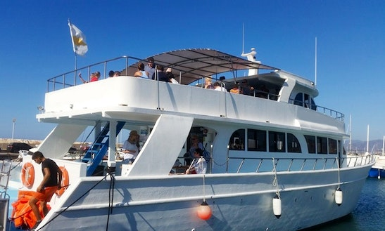 Unforgettable Family Experience During Your Boat Tour In Poli Crysochous, Cyprus