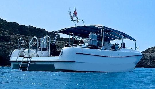 Boat Diving Trips In Protaras