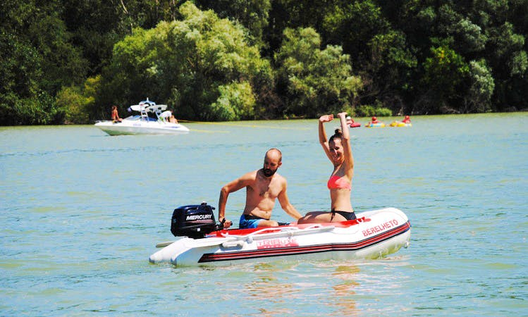 Rent Tribute BM 250 Dinghy rental in Győr, Hungary