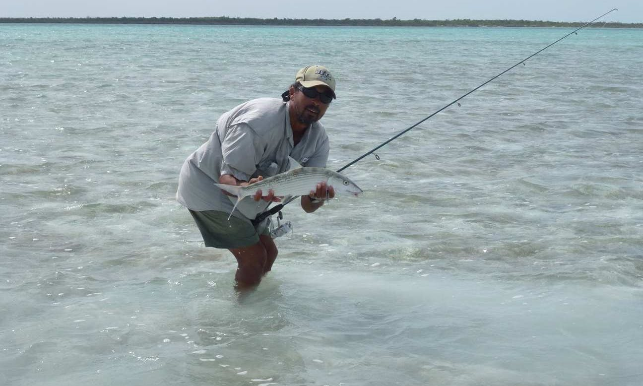 Enjoy Fishing in Ranger Long Island, Bahamas on 16' Ranger Phantom