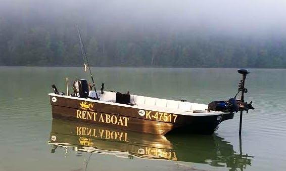 Enjoy Fishing in Sankt Jakob, Austria on Fisher 520 Bass Boat