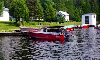 16' Lake Fishing Boat In Béarn