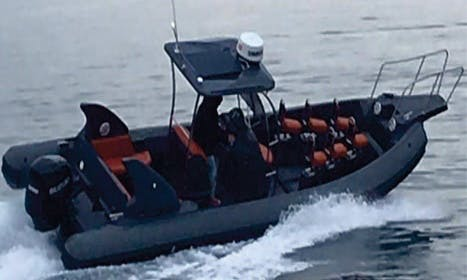 Charter 28' Bat Rigid Inflatable Boat in Rogoznica, Croatia