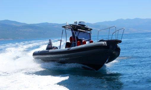Charter 28' Bat Rigid Inflatable Boat in Rogoznica, Croatia