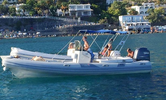 Charter A Rigid Inflatable Boat In Napoli, Campania