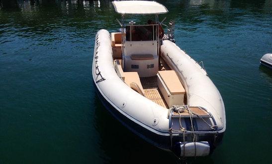 Charter Novamarine 11.50 Rigid Inflatable Boat In Tropea, Italy