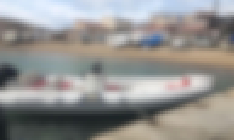 Charter 23' Motonautica Rigid Inflatable Boat in Marseille, France