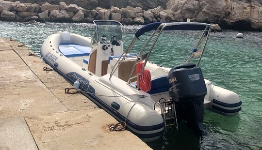 Charter Cappeli Tempest 690 Rigid Inflatable Boat In Marseille, France