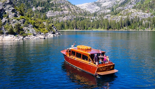 40' Chris Craft Venetian Water Taxi Rental In South Lake Tahoe, California