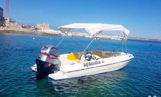 Rent 17' Bowrider In Il-mellieħa, Malta