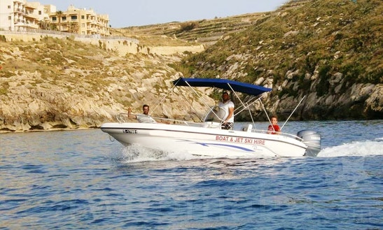 Book A Quality Self-driven Speed Boat 6b Without License In Xlendi Bay, Munxar