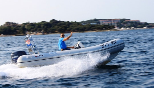 Tour And See The Beauty Of Vrsar, Croatia By Rigid Inflatable Boat