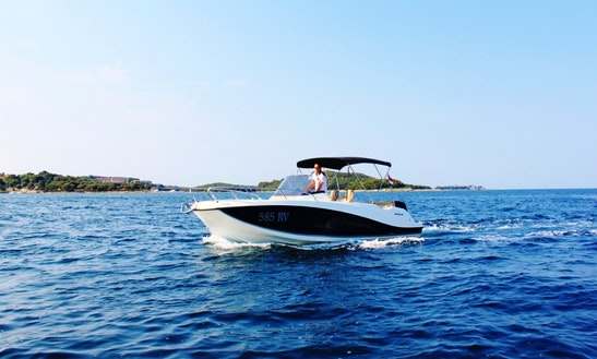 Rent 675 Open Center Console In Vrsar, Croatia
