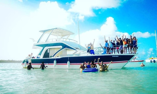 Exciting Excursion Aboard A Majestic Catamaran In Punta Cana, Dominican Republic