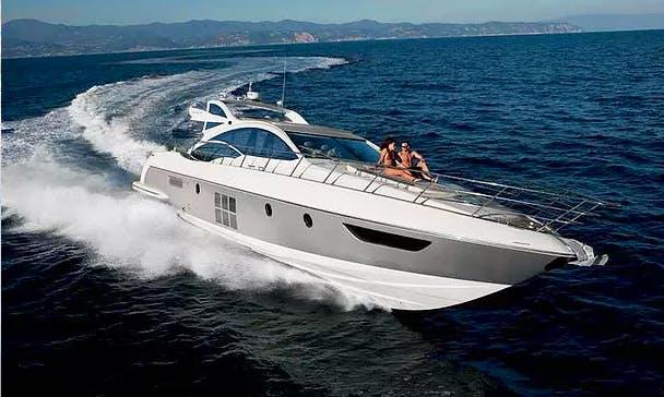 Charter 63' Azimut 62S Power Megha Yacht in București, Romania