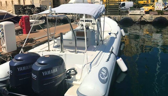 Charter 28' Nautica Cab Rigid Inflatable Boat In Il-kalkara, Malta