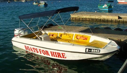 16' Self Drive Speed Boat In Il-mellieħa