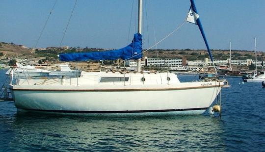 Day Sailing Boat In Malta