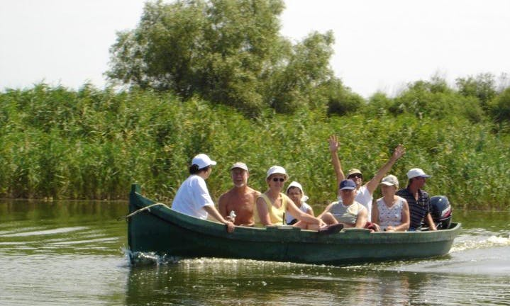 Experience the heart of the Danube Delta with a Dinghy Charter in Mila 23, Romania