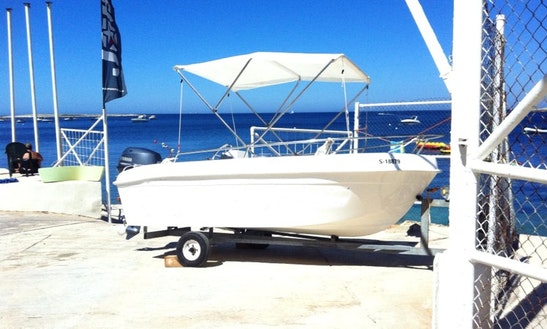 12ft Fully Equipped Boat For Rent In San Pawl Il-baħar