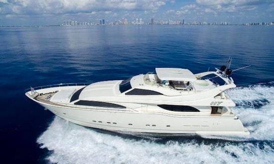 Ferretti 90 - Yacht Charter Palm Beach
