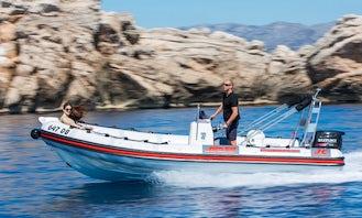 Explore Hidden Beaches on this RIB rental in Dubrovnik, Croatia