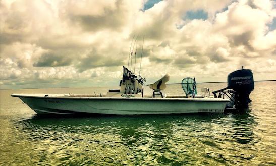 Enjoy Fishing On 25' Hayniecenter Console In Galveston Bay, Texas