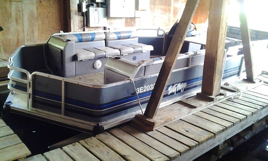 Rent A 24' Suntracker Pontoon Boat In Ontario, Canada For 6 Person