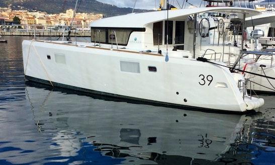 Charter 39' Lagoon Sailing Catamaran In Propriano, France