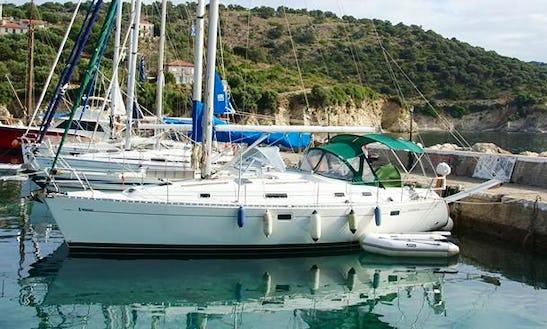 Charter 38' Ariadne Oceanis 381 Cruising Monohull In Rethymno, Greece