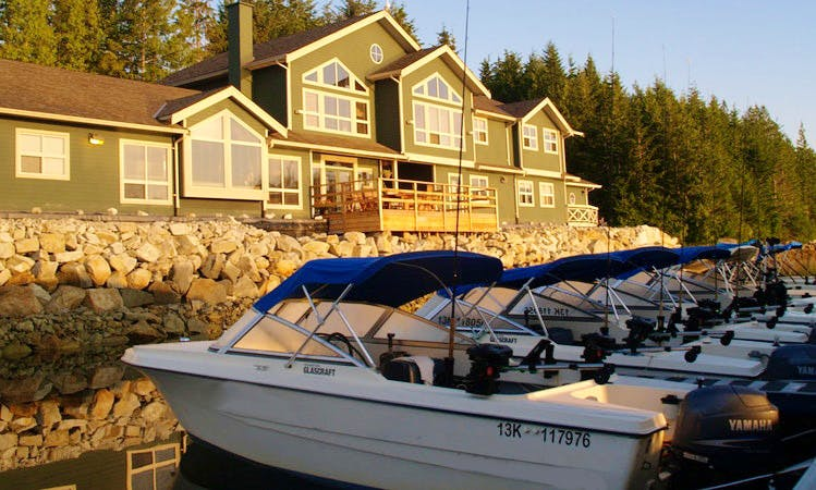 Shearwater Fishing Lodge - Passenger Boat Rental in Bella Bella