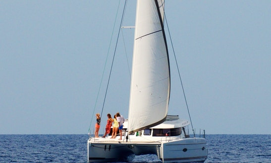 Charter The 41' Lipari Sailing Catamaran In Propriano, France