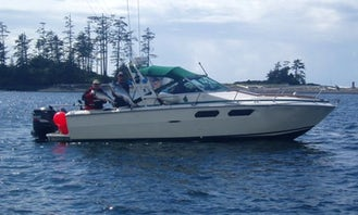 """Fishing Trip on 26ft """"No Doubt"""" with Lodging Sea Ray in Zeballos, BC"""