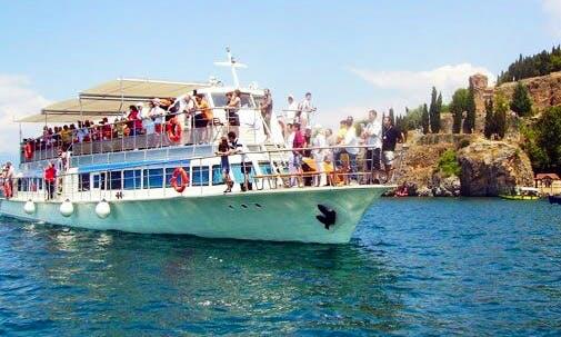 Charter a Passenger Boat in Ohrid, Macedonia (FYROM)