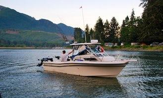 24' Sport Fisherman Charter in Victoria, Canada