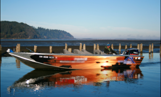 24' North River Jet Boat In Tillamook