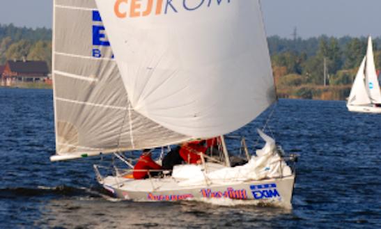 Charter 24' Daysailor In Vyshhorod, Ukraine For Your Next Boating Adventure