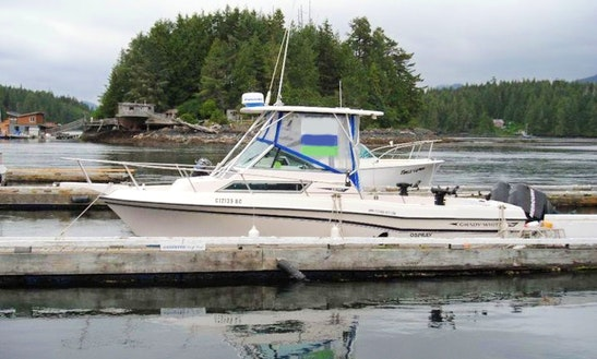 25' Grady White Fishing Boat In Tofino