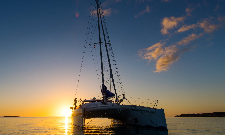 46ft Soubise Sailing Catamaran Boat Cruise in Newport, Rhode Island