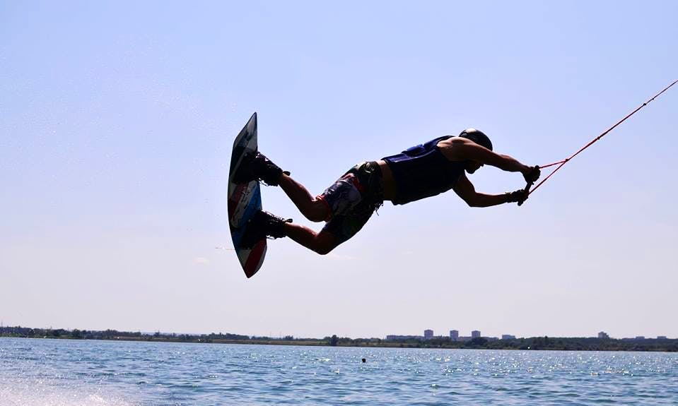 Enjoy Wakeboarding in Dnipropetrovsk, Ukraine